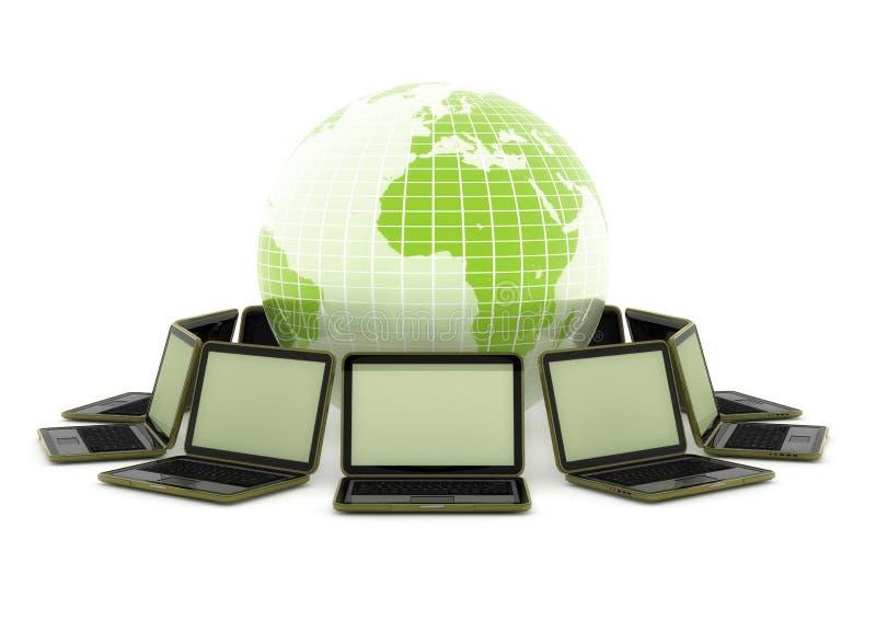 Laptope um die Welt