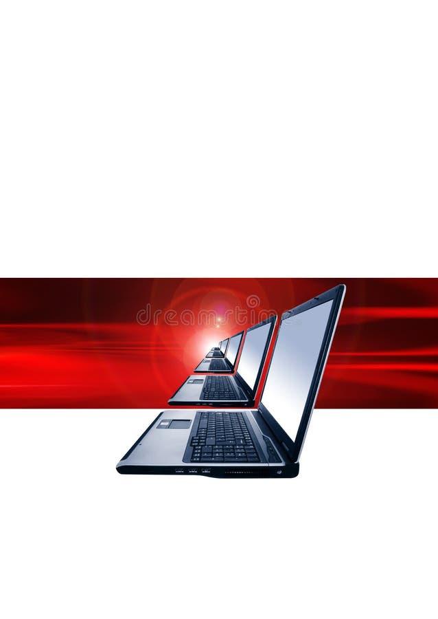 Laptops royalty free stock image