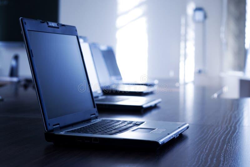 Laptops royalty-vrije stock afbeelding