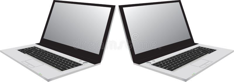 Laptops stock illustratie