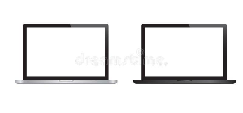 laptops vektor illustrationer