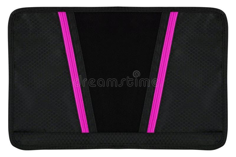 Laptoptasche auf weißem Hintergrund lizenzfreie stockbilder