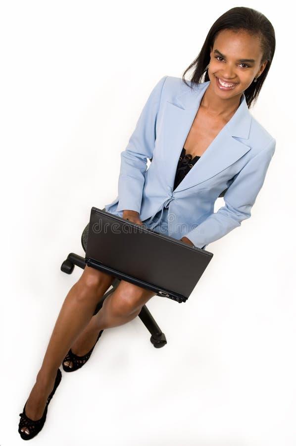 laptopu kobiety działanie fotografia royalty free