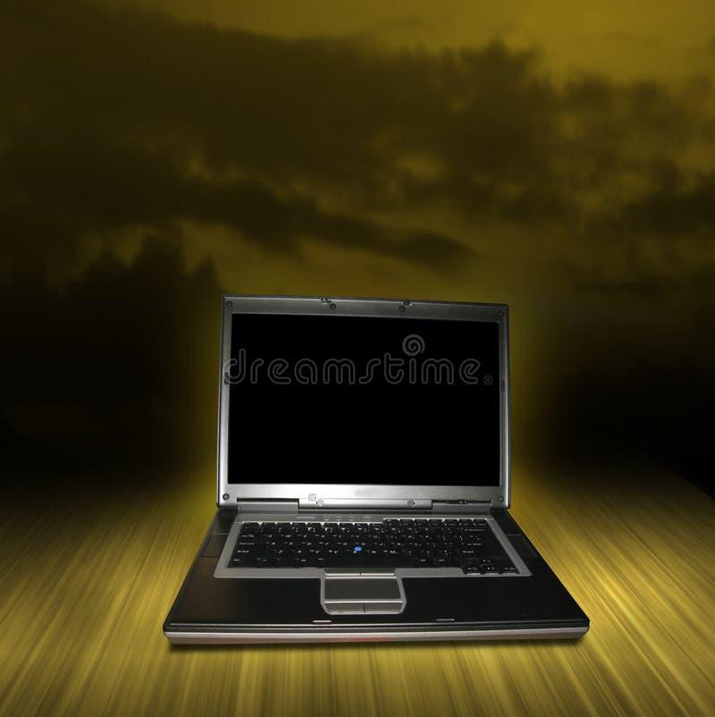 laptopu komputer osobisty zdjęcie stock