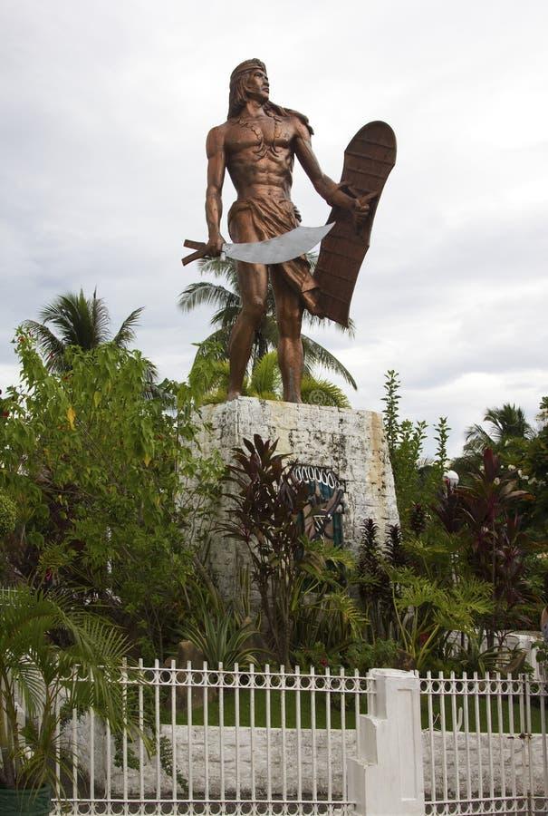 Lapu-Lapu świątynia Cebu zdjęcie royalty free