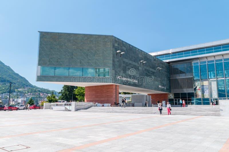 LAQUE Lugano Arte e Cultura photos stock