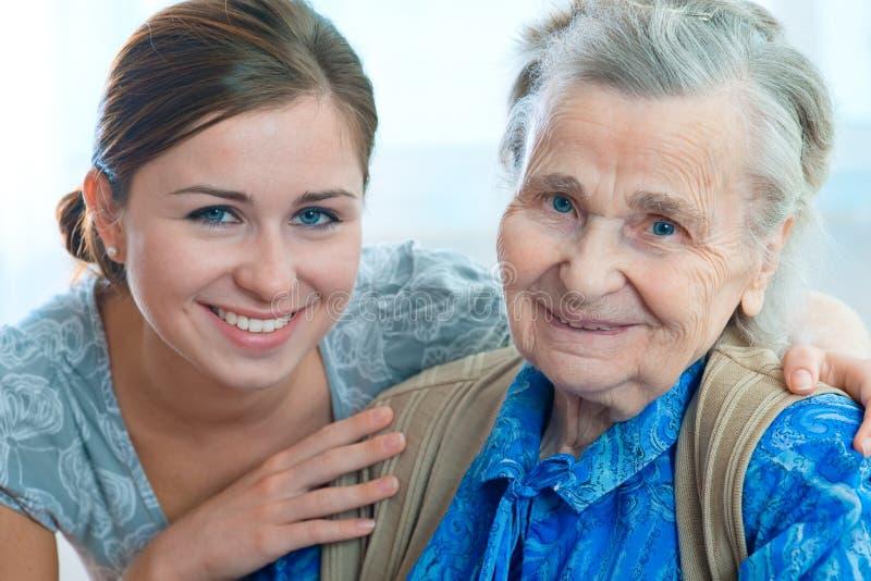 Lar de idosos imagens de stock royalty free