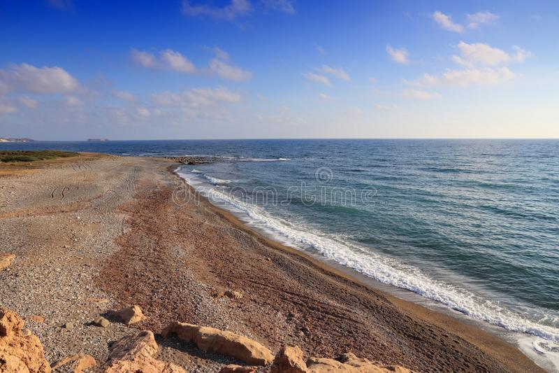 Lara Beach, Zypern stockfoto