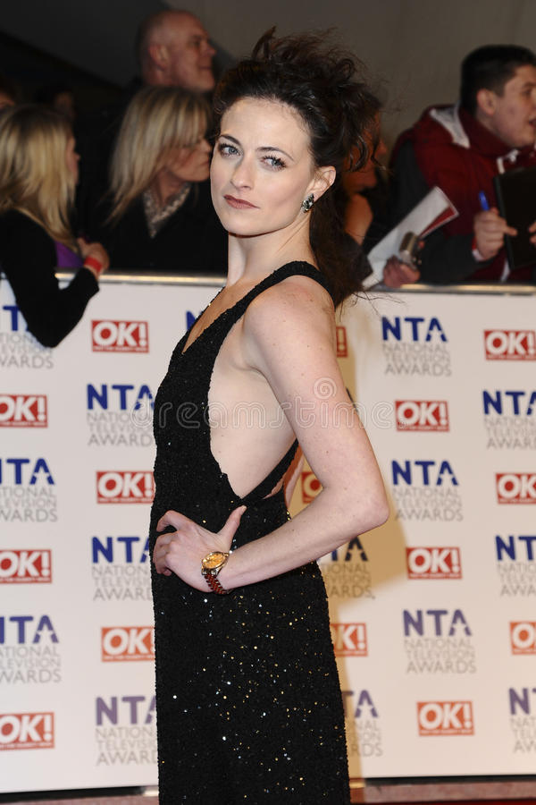 Lara Culver. Arriving for the National Television Awards, O2, London. 25/01/2012 Picture by: Steve Vas / Featureflash stock photo