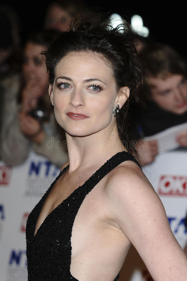 Lara Culver. Arriving for the National Television Awards, O2, London. 25/01/2012 Picture by: Steve Vas / Featureflash stock photography