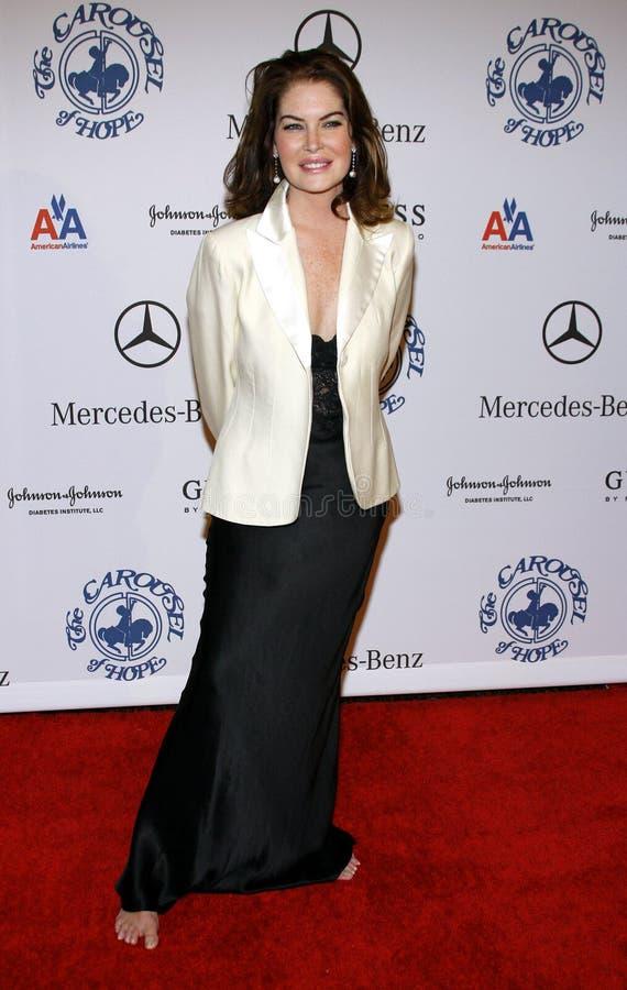Lara Flynn Boyle foto de archivo libre de regalías