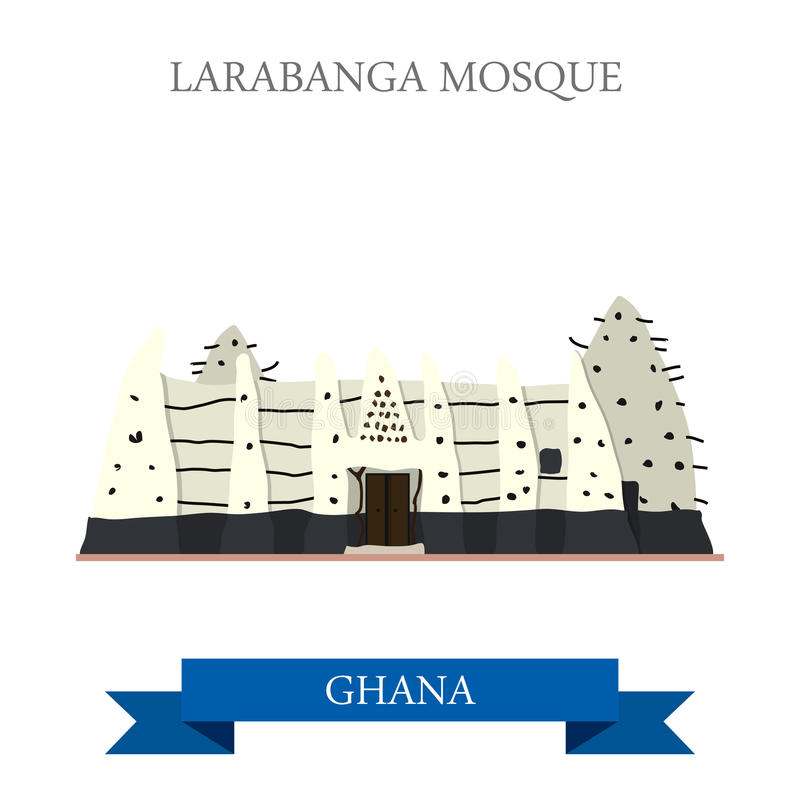 Larabanga moské i Ghana