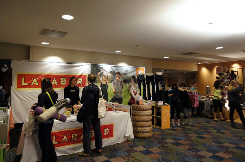 Download Larabar Sales Booth At The Yoga Journal Conference Editorial Image - Image: 17930695
