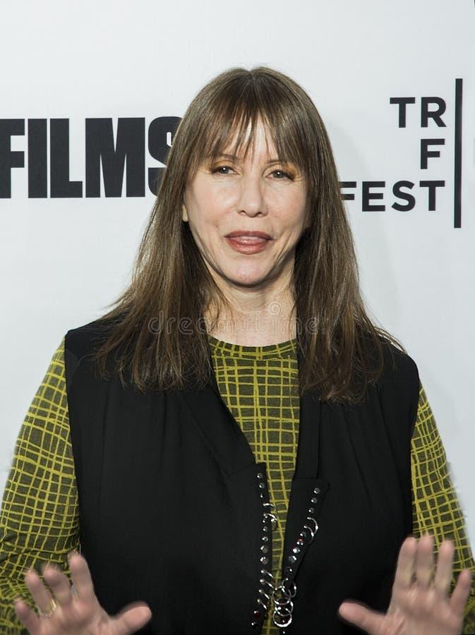 Laraine Newman en la premier del amor del `, Gilda, ` en el festival de cine de Tribeca foto de archivo libre de regalías