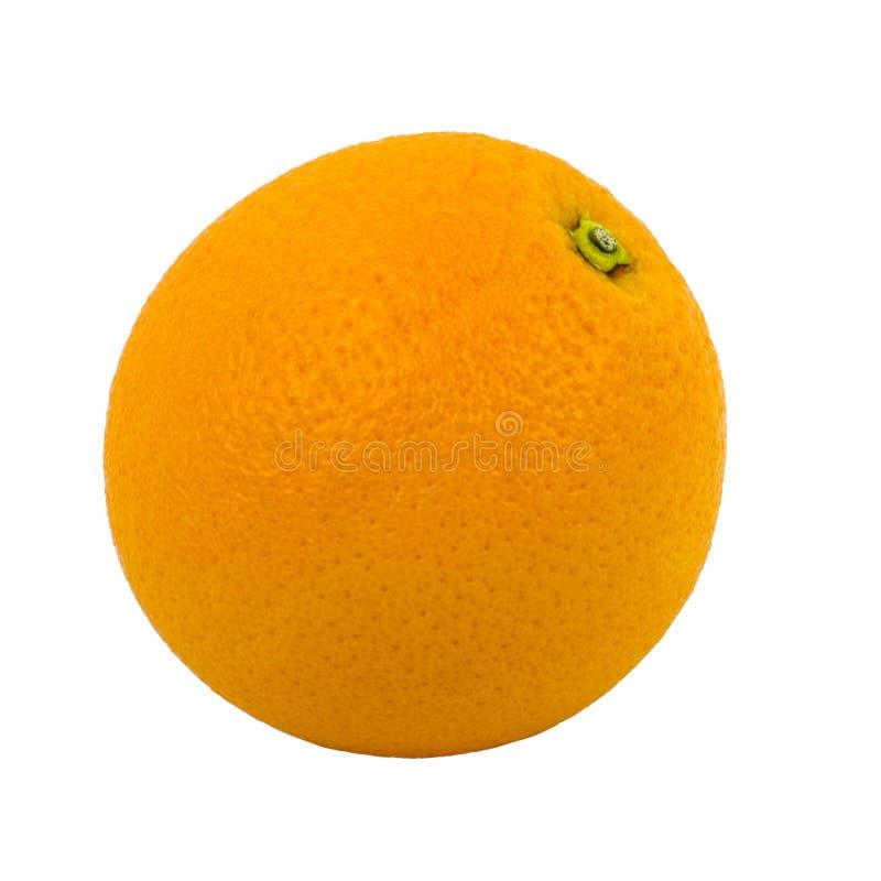 Laranja isolada no fundo branco Fruto, alimento fotografia de stock