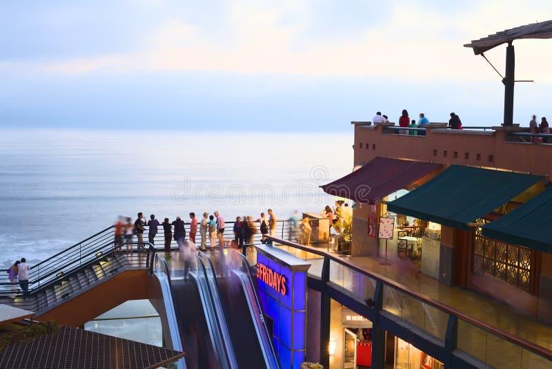 Larco Mar w Lima, Peru zdjęcia royalty free