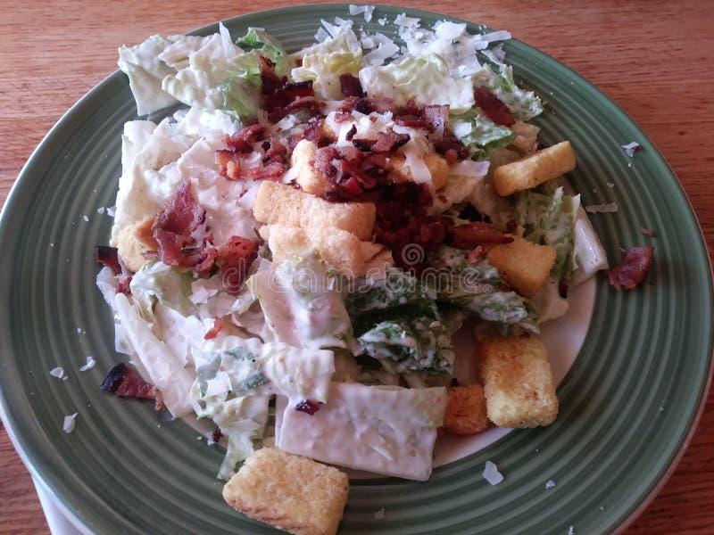 Lard Caesar Salad images libres de droits