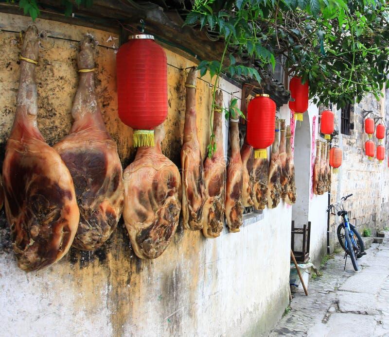 Lard traditionnel de Huizhou photo libre de droits