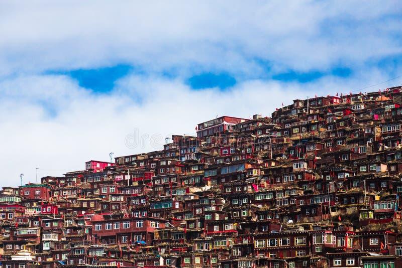Larding Gar Sertar Sichuan China 2015 photographie stock