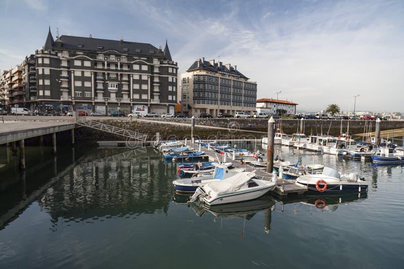 Laredo, Cantabria, España fotos de archivo libres de regalías