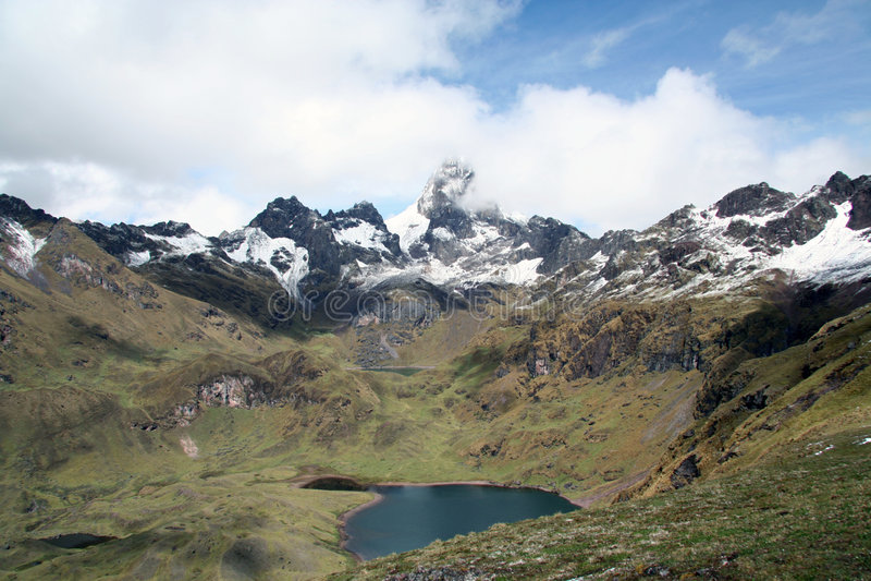 Lares Vallei - Peru royalty-vrije stock foto's