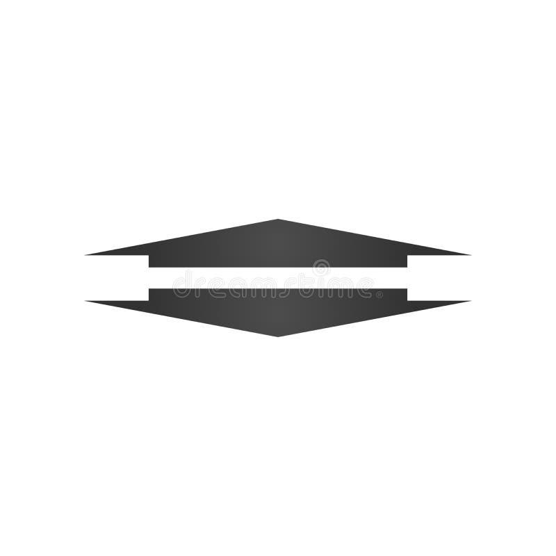 Largamente para cima e para baixo o ícone da seta Elemento do ícone da Web para apresentações, infographics, o conceito móvel e o ilustração stock