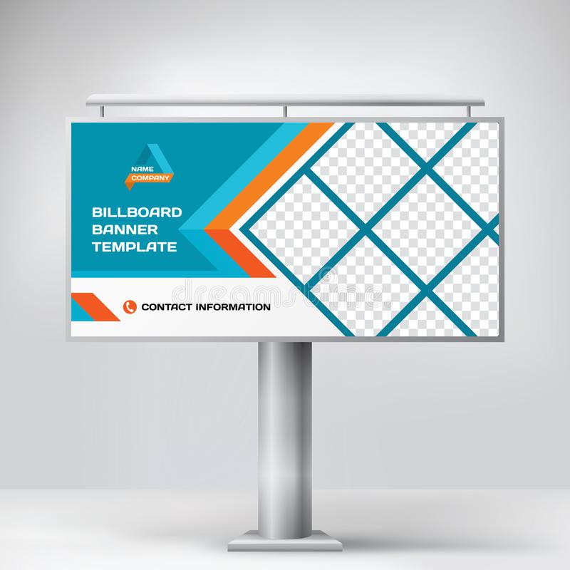 Billboard Design, Template Banner For Outdoor Advertising, Posting ...