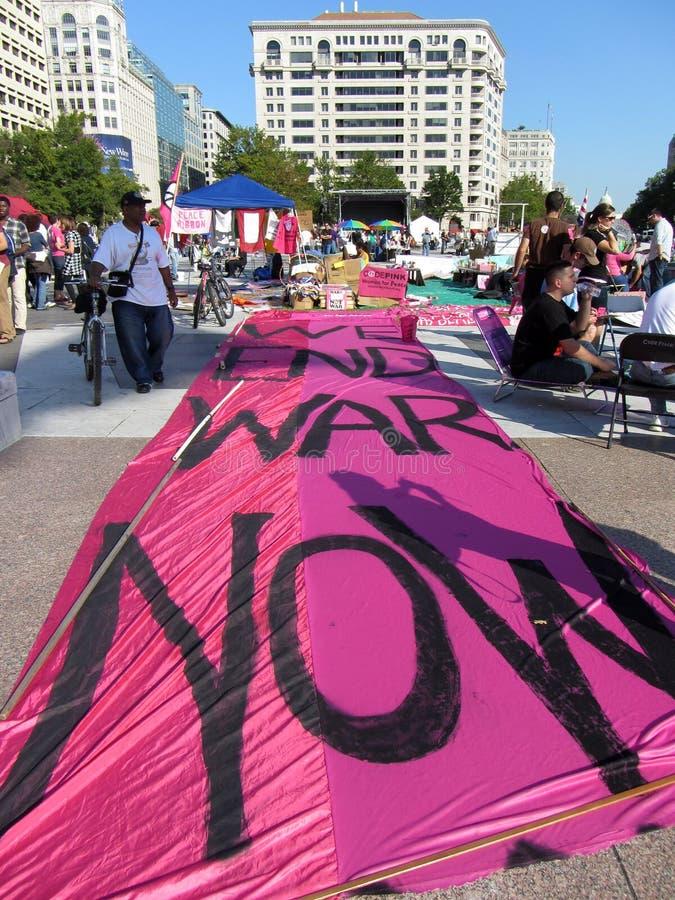 Download Large Anti War Sign Editorial Stock Image - Image: 21499249