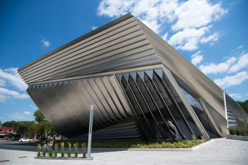 Large Art Museum, campus de MSU photographie stock libre de droits