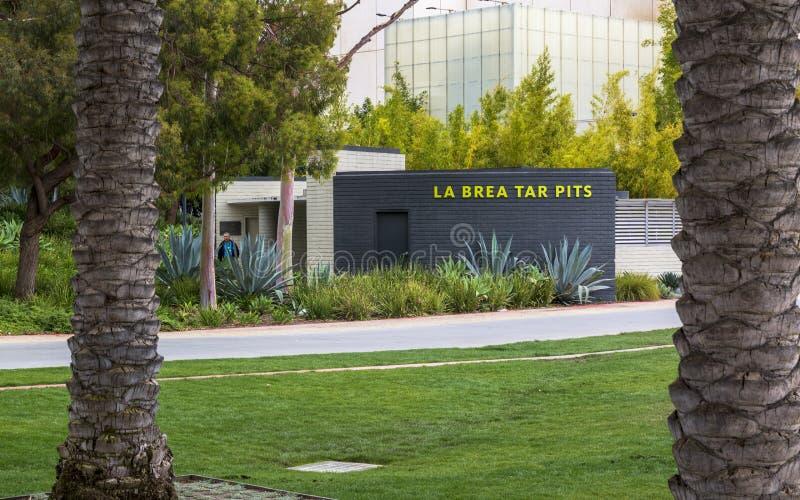 Large Art Museum contemporain, Musée d'Art du comté de Los Angeles, Los Angeles, la Californie, Etats-Unis d'Amérique images stock
