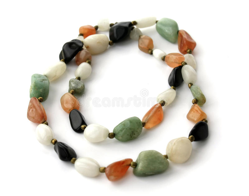 Download Large Beads Of Different Stones Stock Image - Image: 13039171