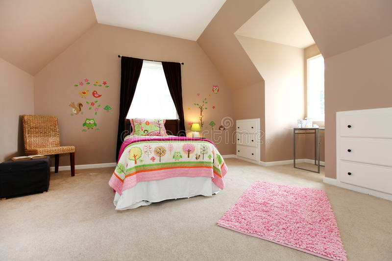 large brown baby girl bedroom with pink stock photo 16678 | large brown baby girl bedroom pink 25082834