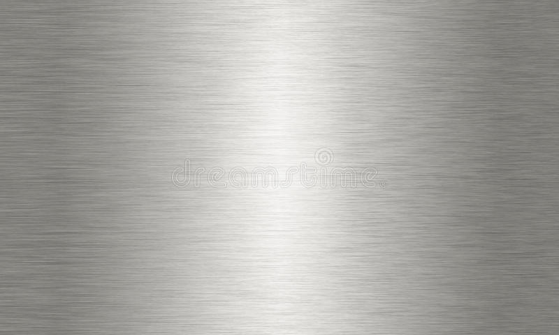 Large Brushed Aluminium Background Texture Stock