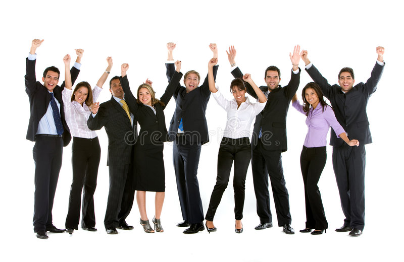 Download Large business group stock image. Image of confident, businessmen - 7711677