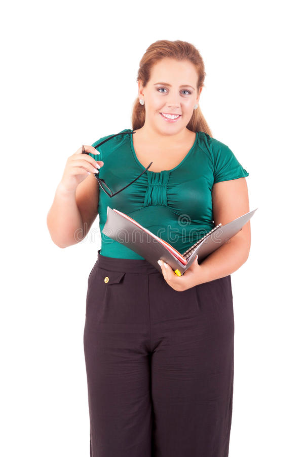 Download Large business woman stock photo. Image of adult, background - 27123110