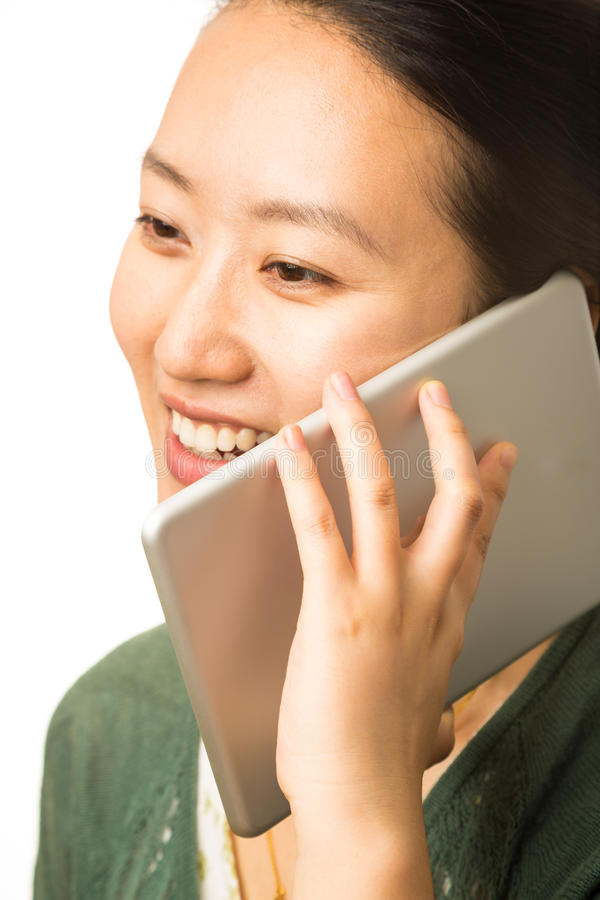 Large cellphone royalty free stock photography