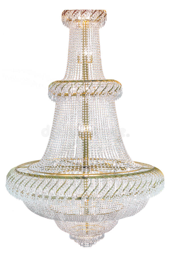 Large Chandelier stock photography