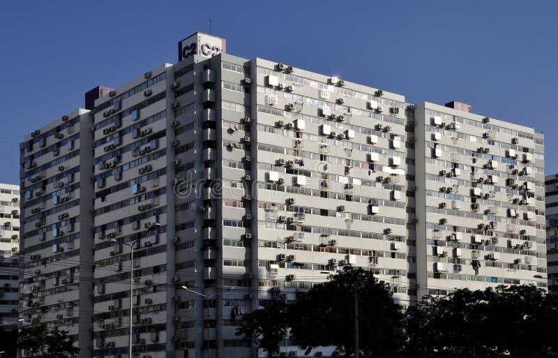Large condominium development royalty free stock images