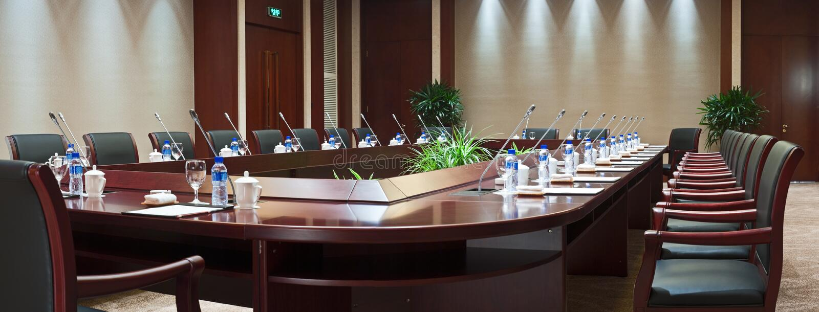 Download Large Conference Room In Hotel Stock Photo - Image: 13843230