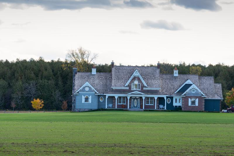 Large country home royalty free stock images