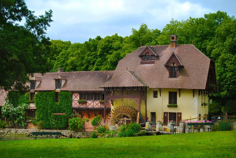 Country Manor House Giverny France royalty free stock photos