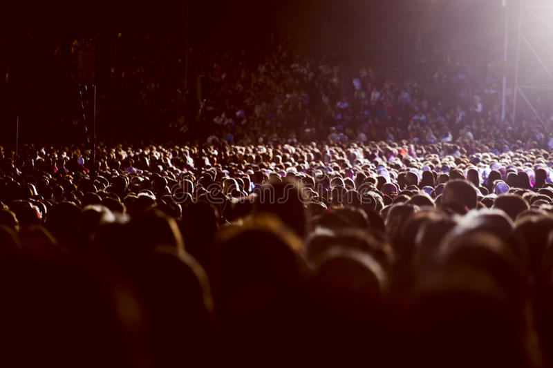 Download Large Crowd Of People Stock Photo - Image: 44119652