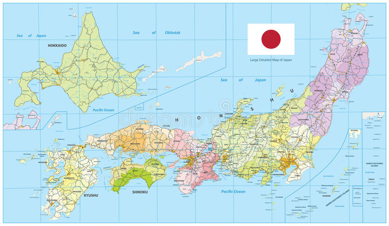 Large detailed world map free usa maps large detailed map of japan stock vector illustration kyushu rhdreamstime large detailed world map at publicscrutiny Gallery