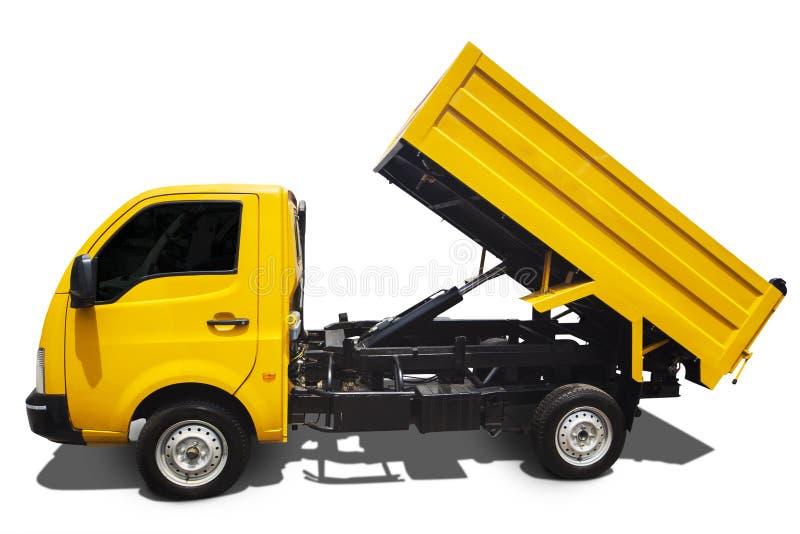 Large dump truck stock photos