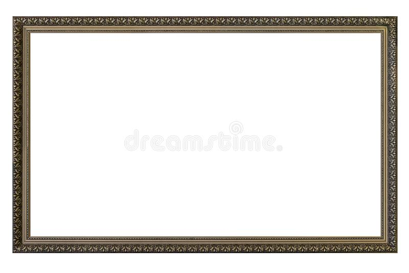 Large empty picture frame stock images