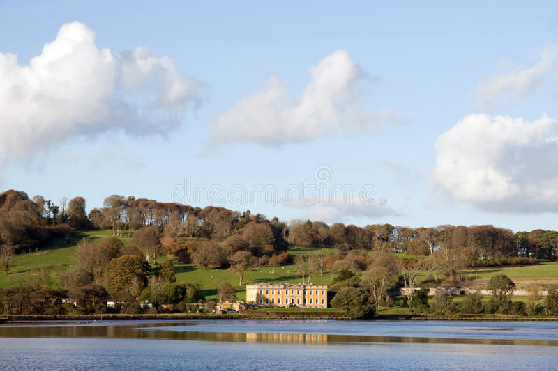 Download Large Estate Mansion On River Blackwater Stock Photos - Image: 24776973