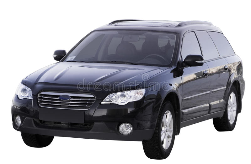 Download Large family car isolated stock image. Image of offroader - 11118383