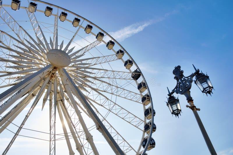 Download Large ferris wheel stock image. Image of steel, passenger - 23876347