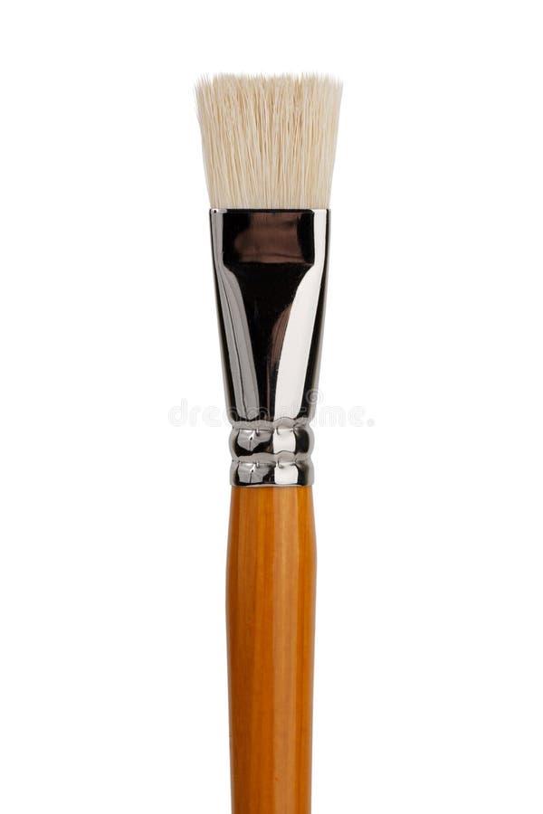 A large flat brush stock photo