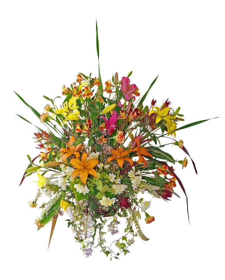 Large Floral Arrangement Royalty Free Stock Images